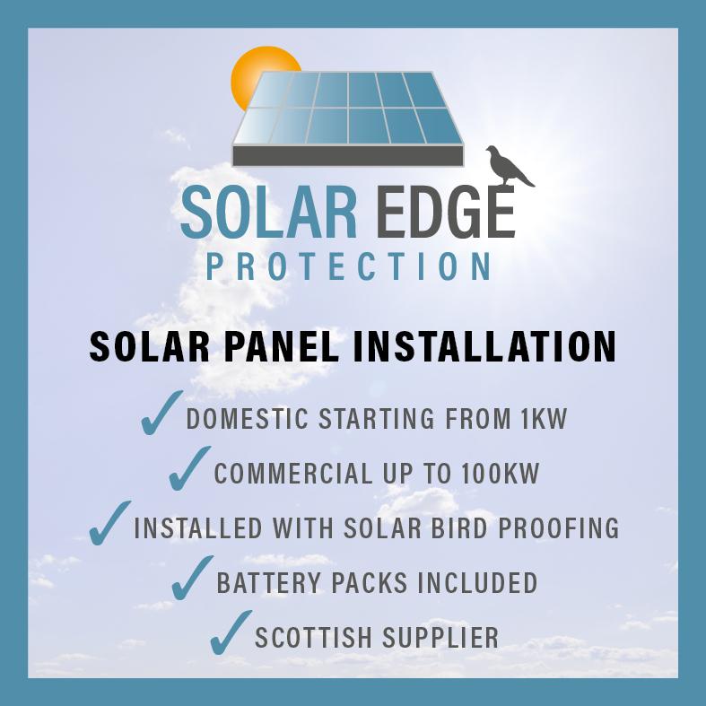 solar panel installers Scotland