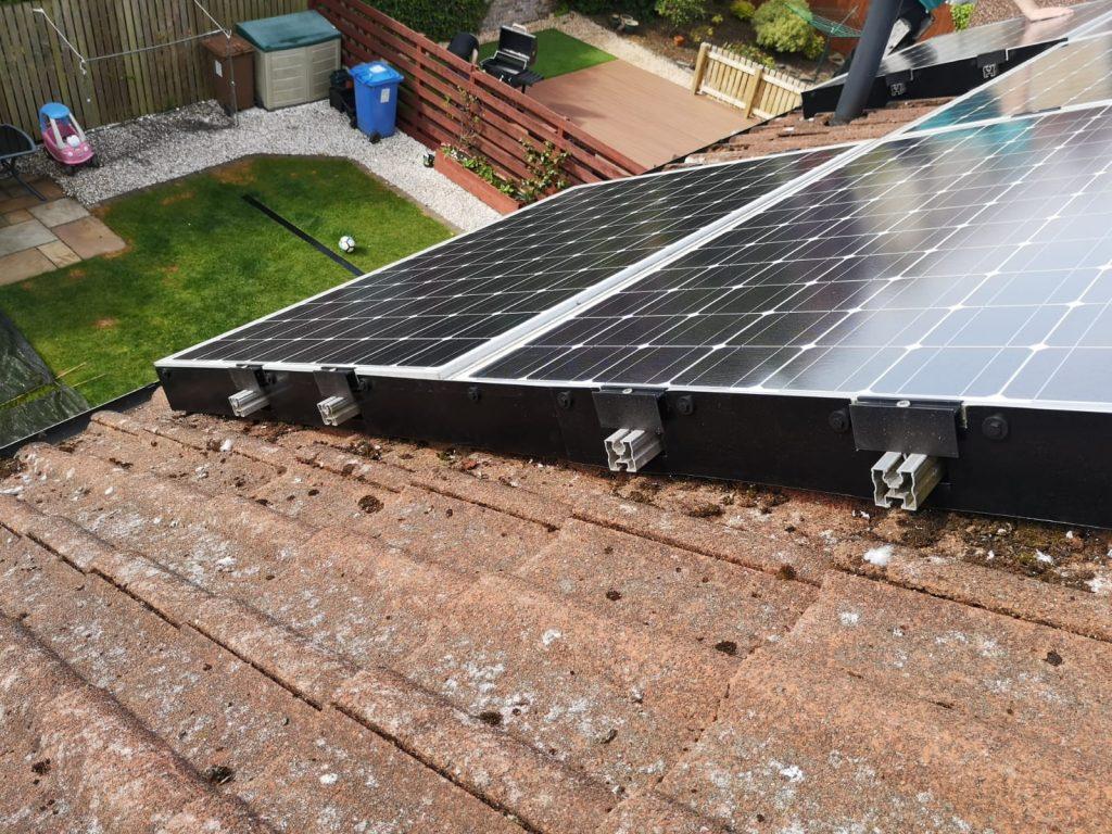solar pigeon proofing Stenhousemuir, Falkirk