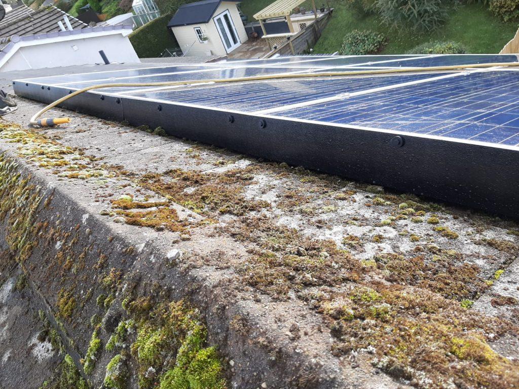 solar panel clean Scotland