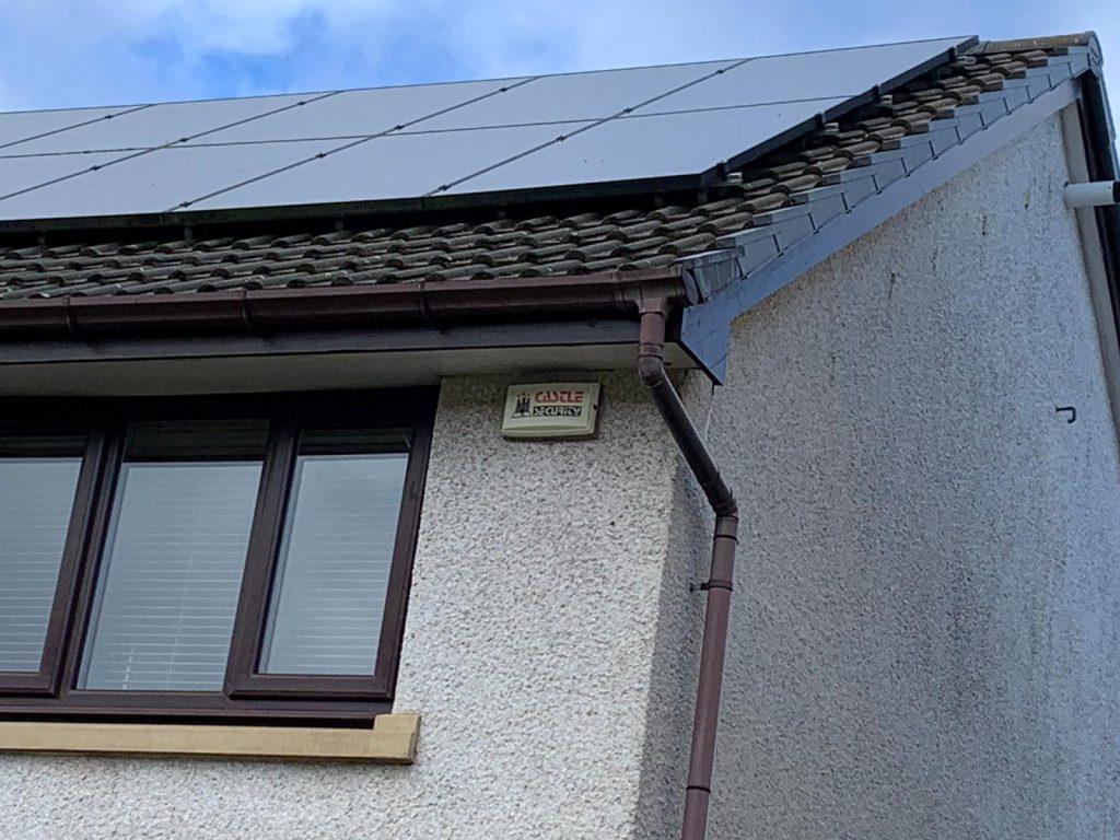 stop birds nesting under solar panels Edinburgh, Scotland