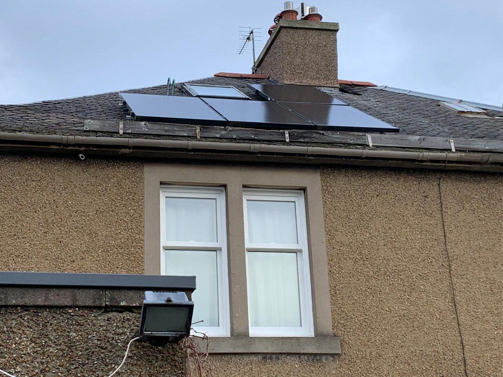 solar panel bird proofing Edinburgh, Scotland
